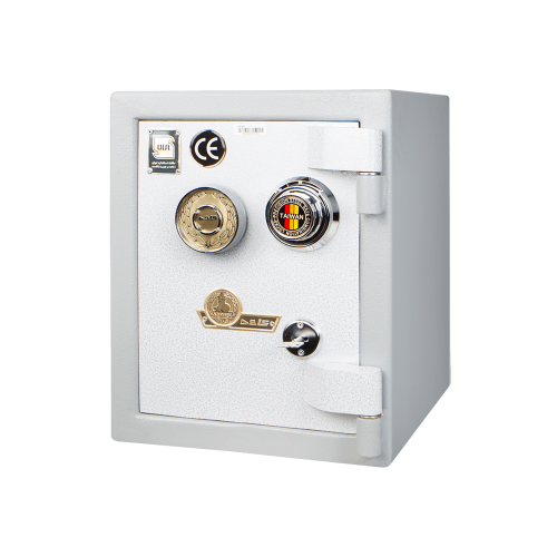 Alborz safe 50KR with Kaveh key lock and mechanical code