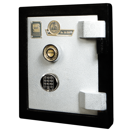 Wall door without compartment 75Wdg with Kaveh key lock and digital password 1110